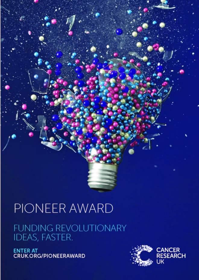 CRUK Pioneer Award poster (020715)